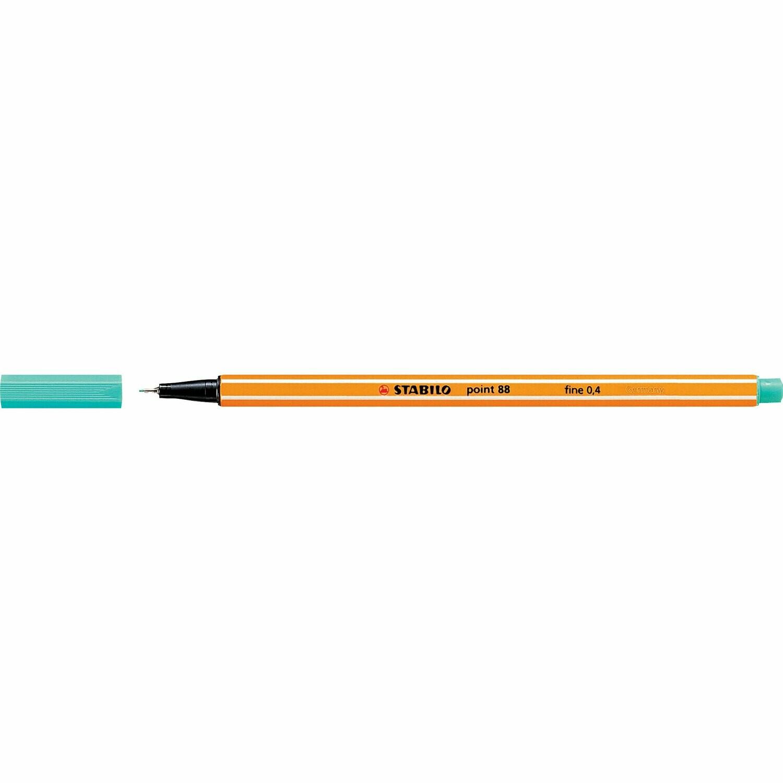 Pen, Fineliner, Point 88 Turquoise, 0.4 Mm, Single