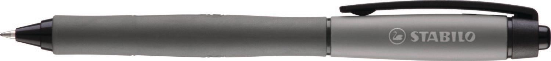 Pen, Gel, Retractable, Palette Black, Box of 10, 0.7 Mm