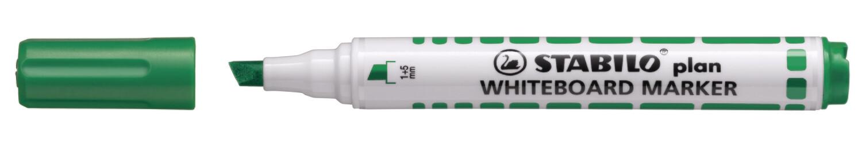 Marker, Whiteboard, Chisel, Plan Green, Box of 10