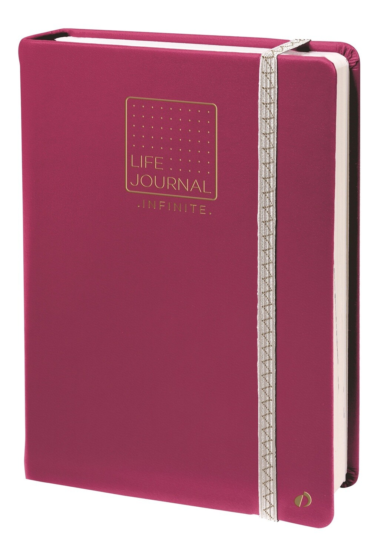 "Planner, Undated, Life Journal Dots, Prune, 6"" x 8.25"""
