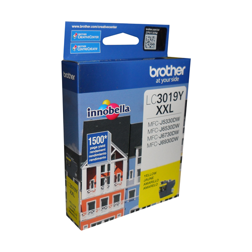 Brother Ink Lc3019Yxxl Yellow