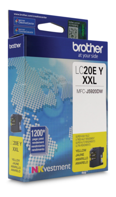 Brother Ink Lc20Eys Yellow