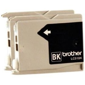 Brother Ink Lc51 Black 2 Pack
