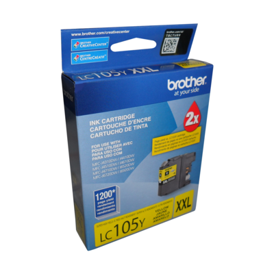 Brother Ink Lc105Ys Xxl Yellow