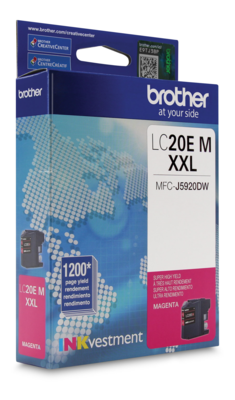 Brother Ink Lc20Ems Magenta