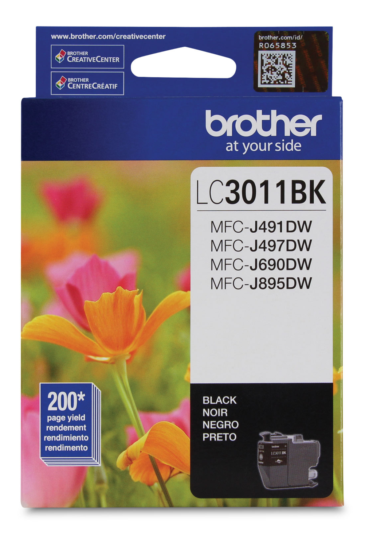 Brother Ink Lc3011Bk Black