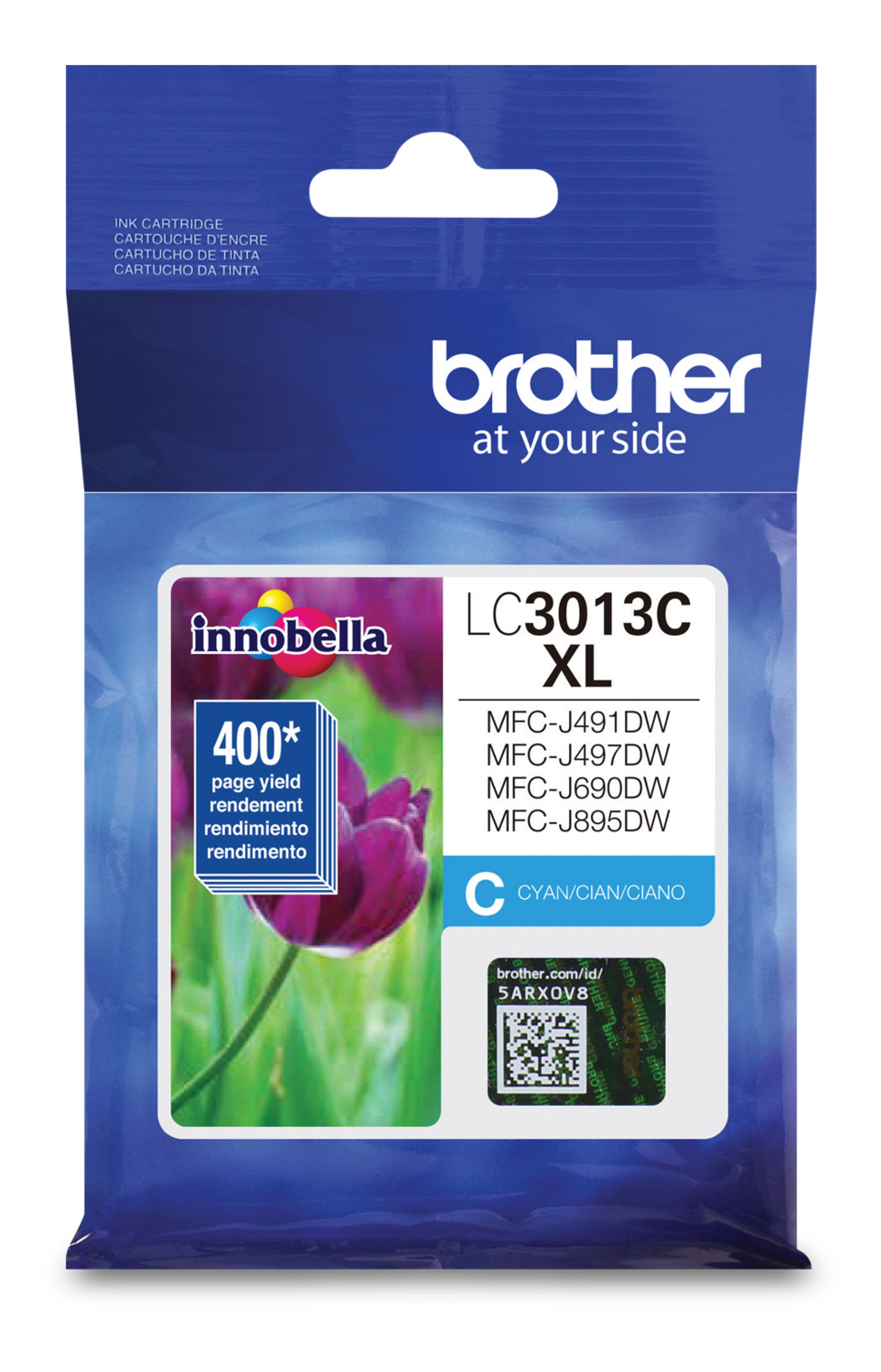 Brother Ink Lc3013C Xl Cyan