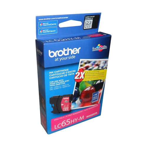 Brother Ink Lc65M Magenta High Yield
