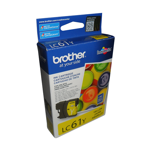 Brother Ink Lc61Y Yellow