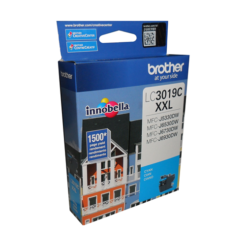 Brother Ink Lc3019Cxxl Cyan