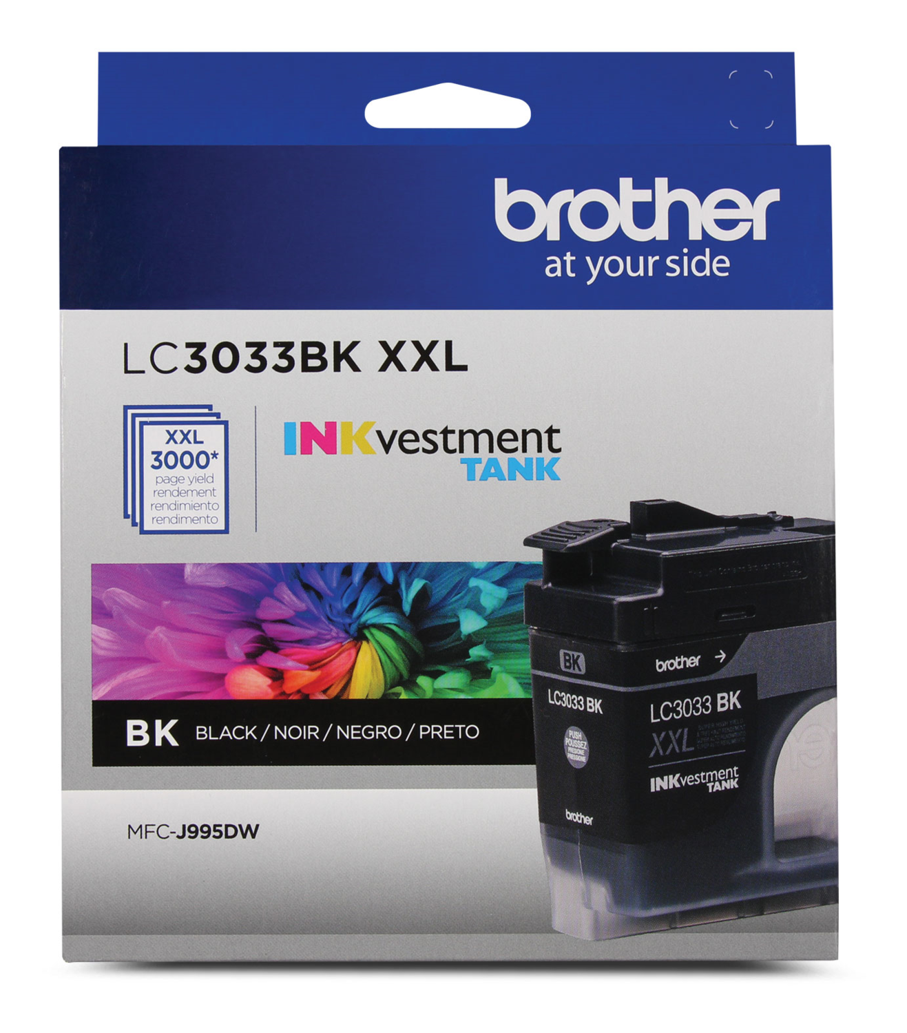 Brother Ink Lc3033Bks XXL Black