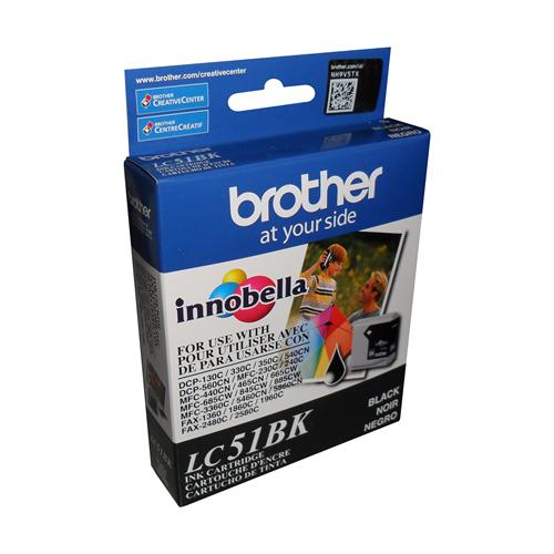 Brother Ink Lc51Bk Black