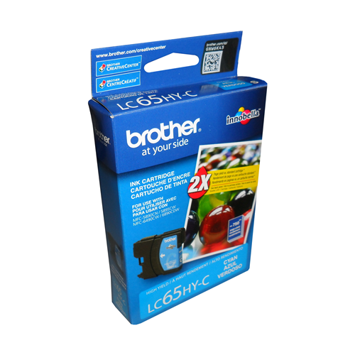 Brother Ink Lc65C Cyan High Yield
