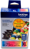 Brother Ink Lc75Cl Tri-Colour