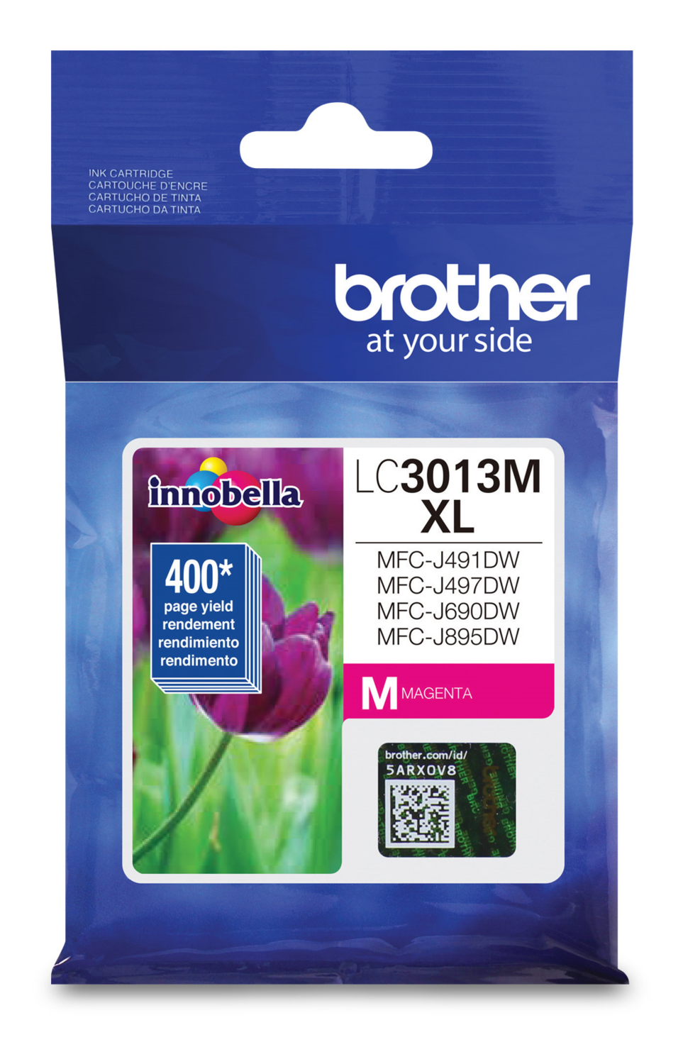 Brother Ink Lc3013M Xl Magenta