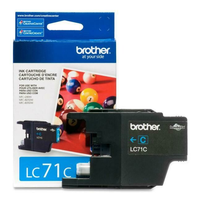 Brother Ink Lc71 Cyan