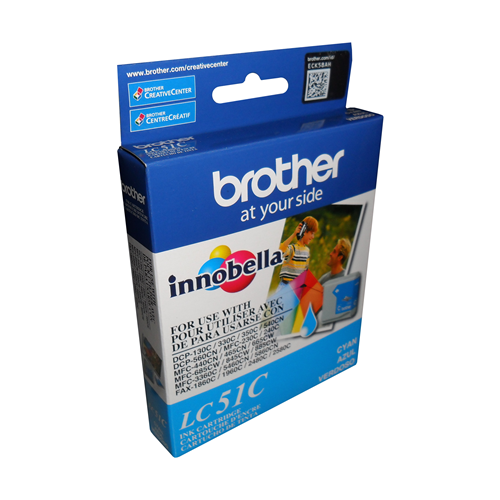 Brother Ink Lc51C Cyan