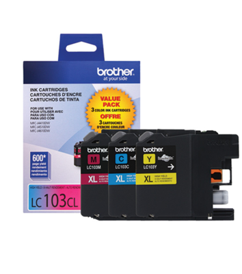 Brother Ink Lc103 3 Pack