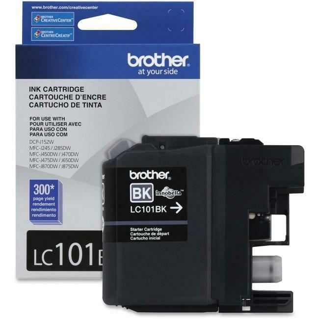 Brother Ink Lc101Bks Black