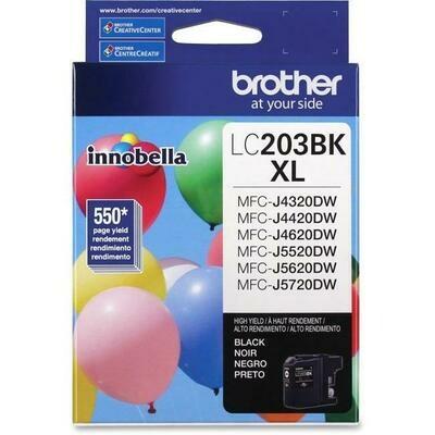 Brother Ink Lc203Bkxl Black