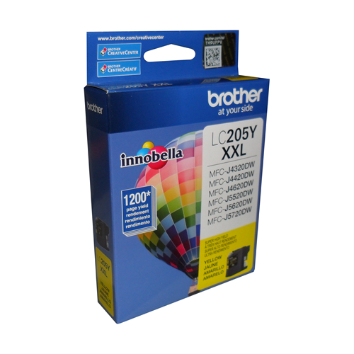Brother Ink Lc205Y Xxl Yellow