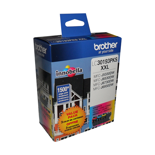 Brother Ink Lc3019 Xxl Colour Multi Pack