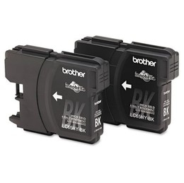 Brother Ink Lc65Hy Black 2 Pack