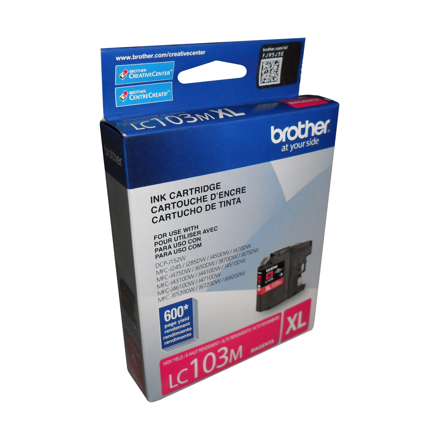 Brother Ink Lc103Ms Magenta