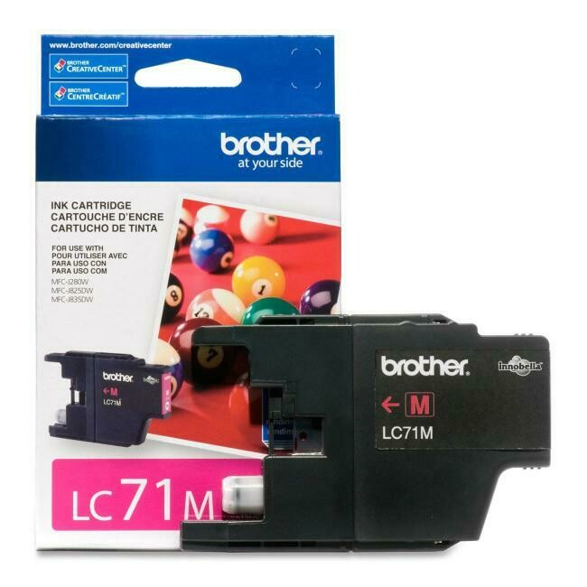 Brother Ink Lc71 Magenta