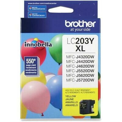 Brother Ink Lc203Yxl Yellow