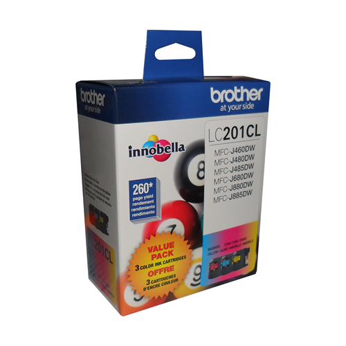 Brother Ink Lc201 Clear 3 Pack
