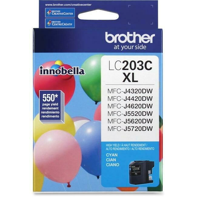 Brother Ink Lc203Cxl Cyan