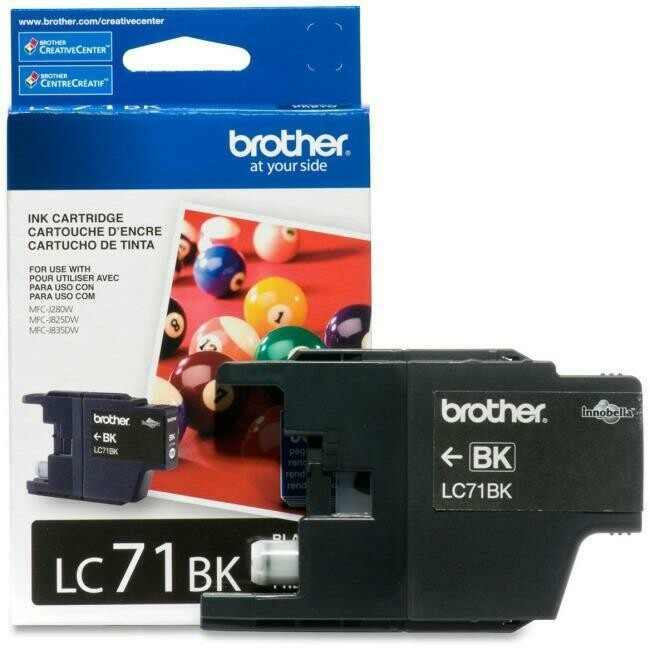 Brother Ink Lc71Bks Black