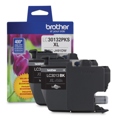 Brother Ink Lc3013 Xl Black 2 Pack
