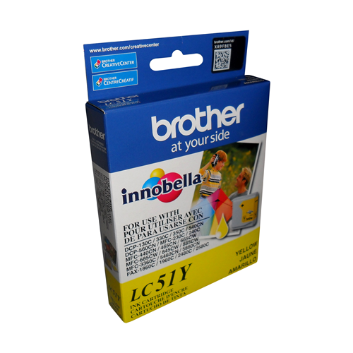 Brother Ink Lc51Y Yellow