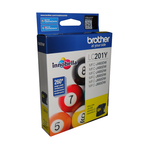Brother Ink Lc201Y Yellow