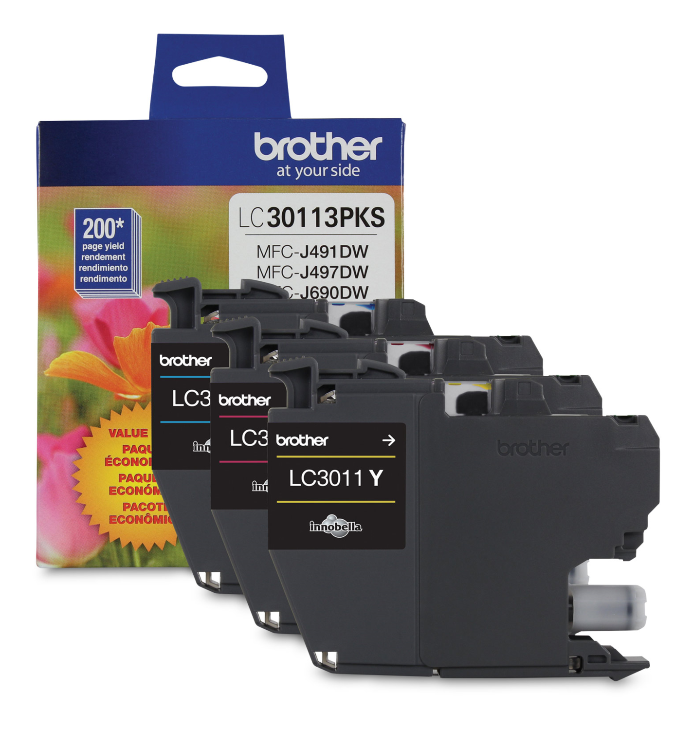 Brother Ink Lc3011 Colour Pack