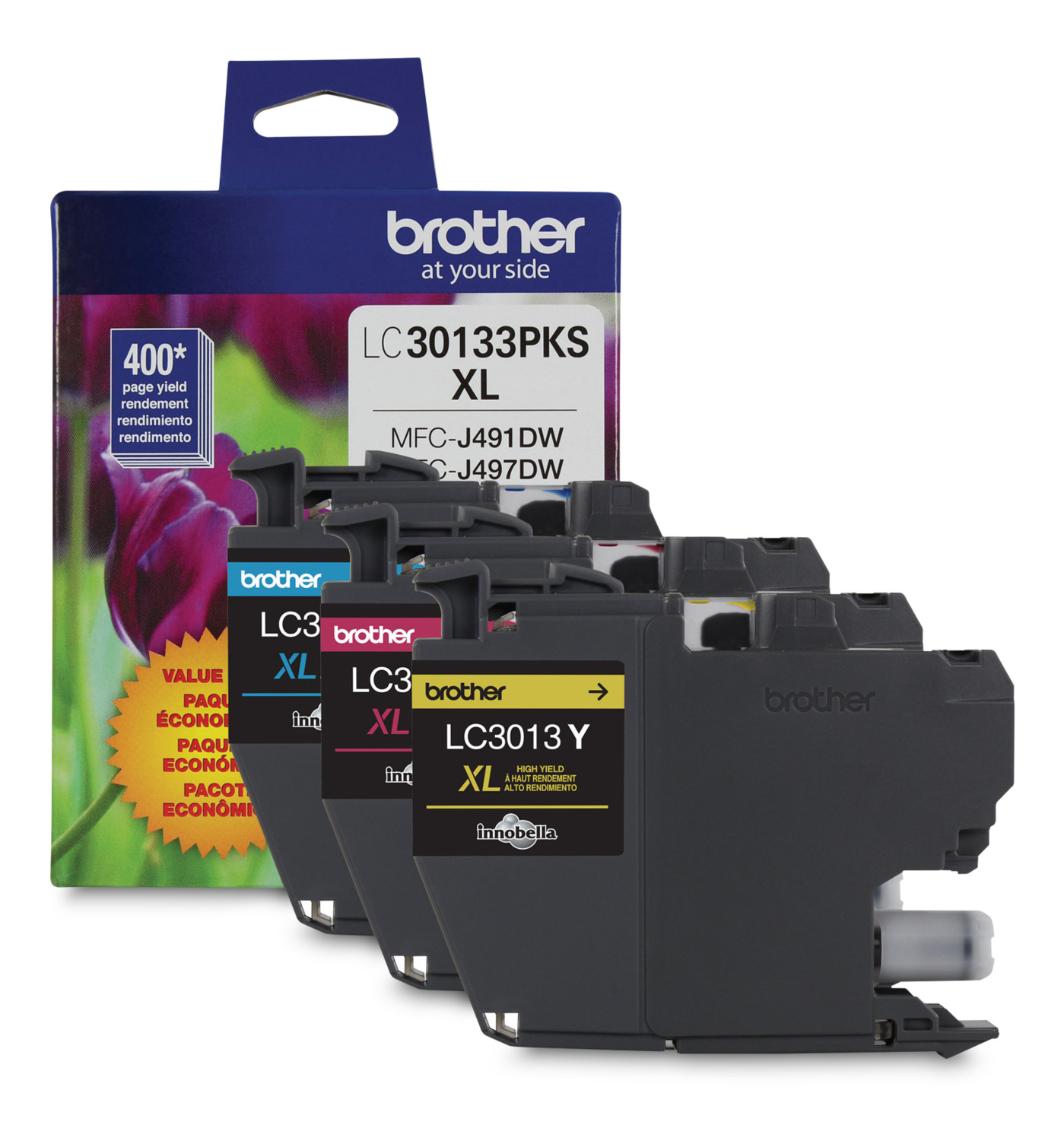 Brother Ink Lc3013 Colour 3 Pack