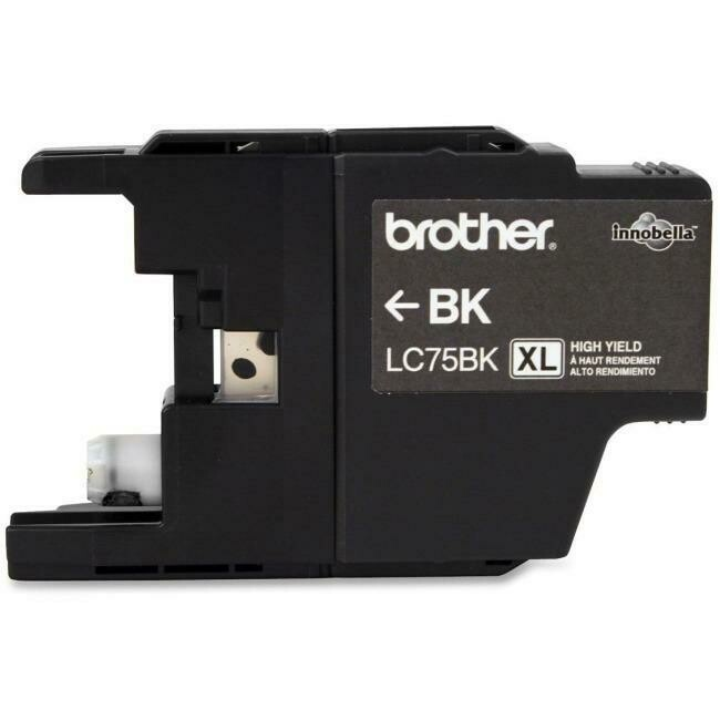 Brother Ink Lc75Bk Xl Black