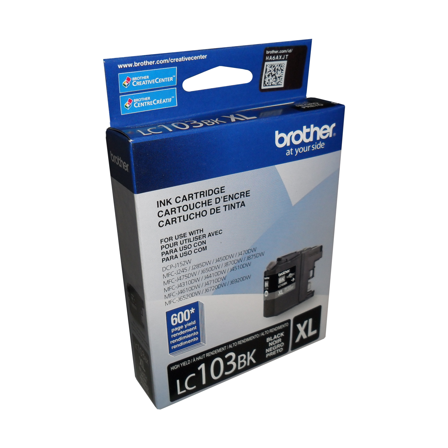 Brother Ink Lc103Bks Xl Black