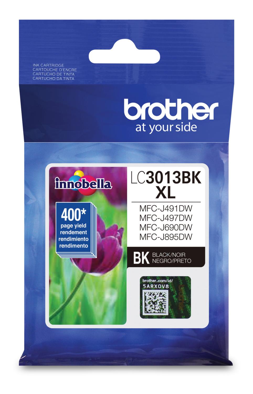 Brother Ink Lc3013Bks Black