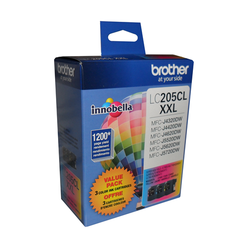 Brother Ink Lc205Clxxl Tri-Colour