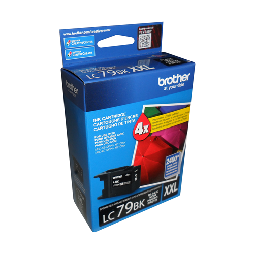 Brother Ink Lc79Xxl Black Super High Yield