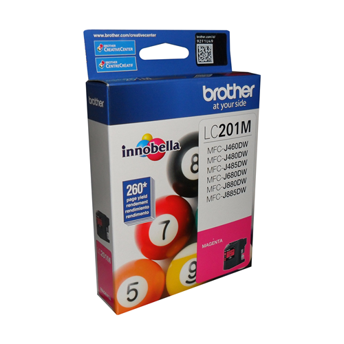 Brother Ink Lc201M Magenta