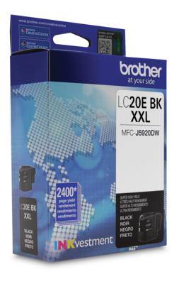Brother Ink Lc20Ebks  Black