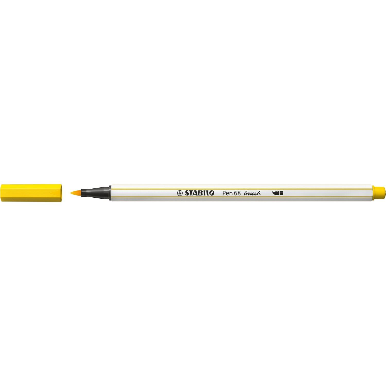 Pen, 68 Brush Yellow, Single