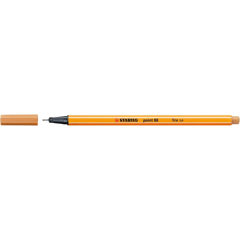 Pen, Fineliner, Point 88 Dark Ocher, 0.4 Mm, Single