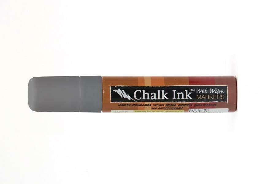 Marker Wet Wipe Chalk Dolphin Grey 15Mm