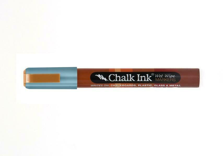 Marker Wet Wipe Chalk Metallic Electric Blue 6Mm