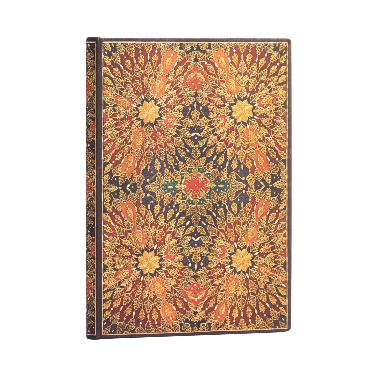 Address Book, Midi Fire Flowers